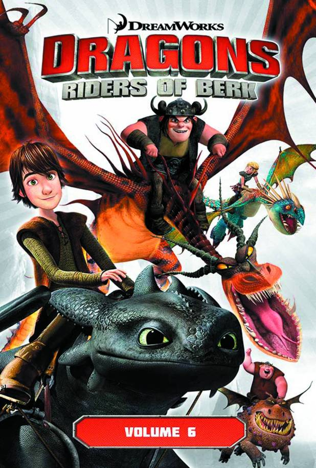 Dragons Riders Of Berk Graphic Novel Volume 6: Underworld