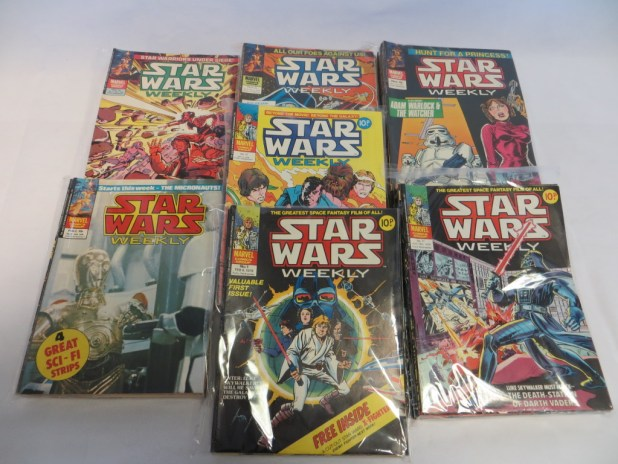Complete Set of Star Wars UK Comics Number 1 to 117, February 1978 to May 1980.