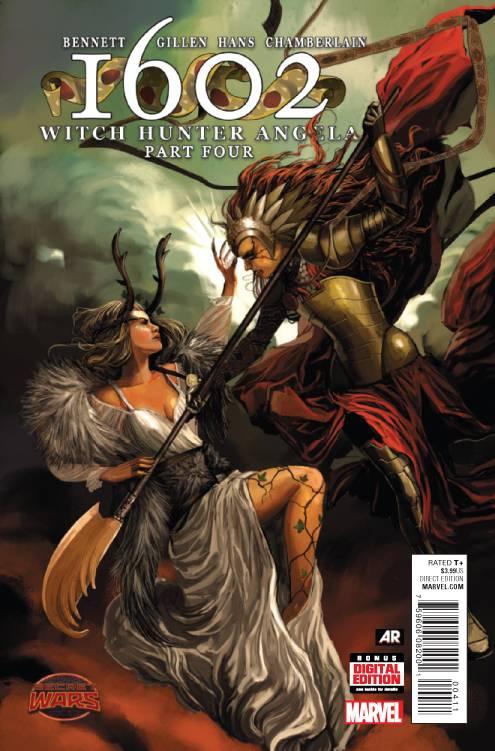 1602 Witch Hunter Angela #4 (Secret Wars Tie-In)