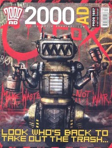 2000AD Prog 1667 - Ro-Jaws by Clint-Langley