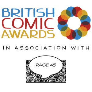 British Comic Awards and Page 45 Logo