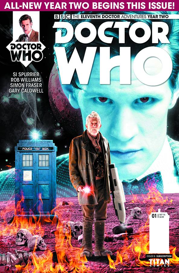 Doctor Who: The Eleventh Doctor Year Two #1 Photo