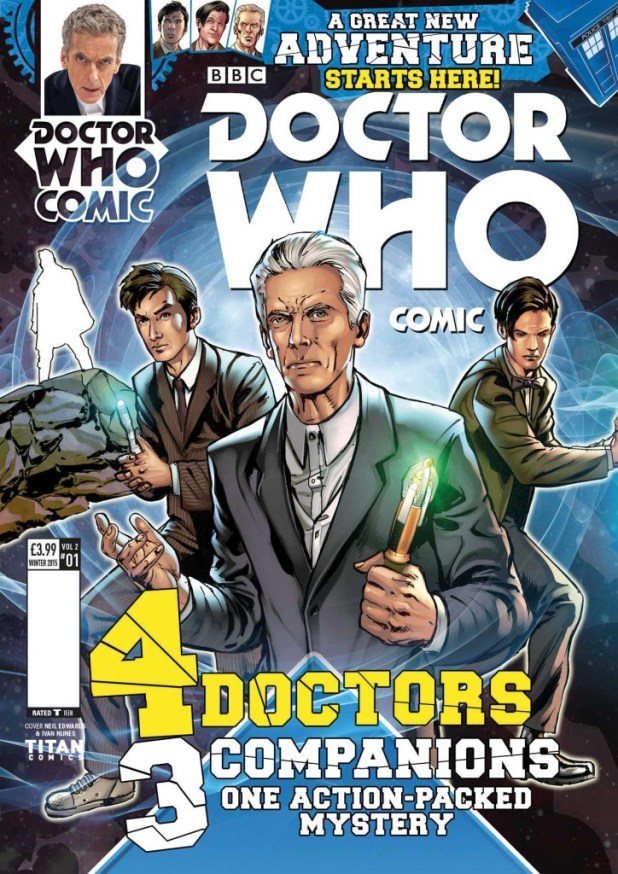 Doctor Who Comic UK #2.1
