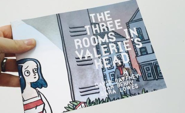 Three Rooms in Valerie's Head by Dan Berry