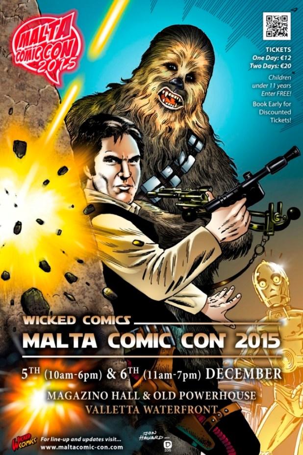 Malta Comic Con 2015 Poster
