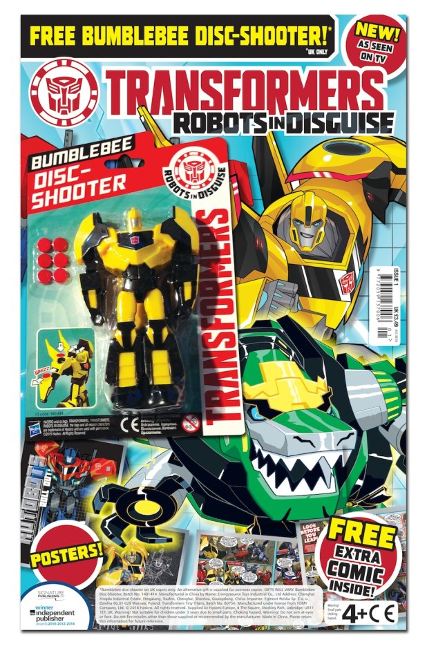 Transformers: Robots in Disguise Issue 1 - Cover