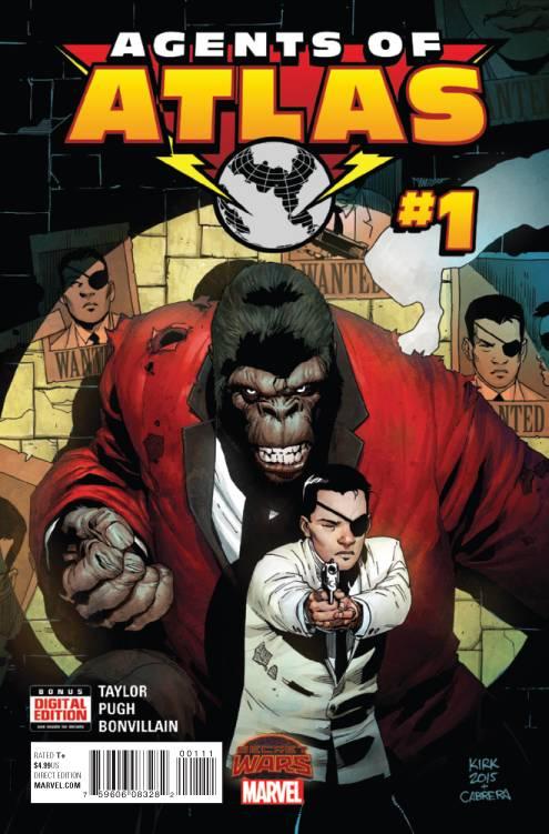 Secret Wars: Agents of Atlas #1