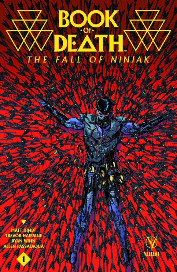 Book Of Death Fall Of Ninjak #1 2nd Printing