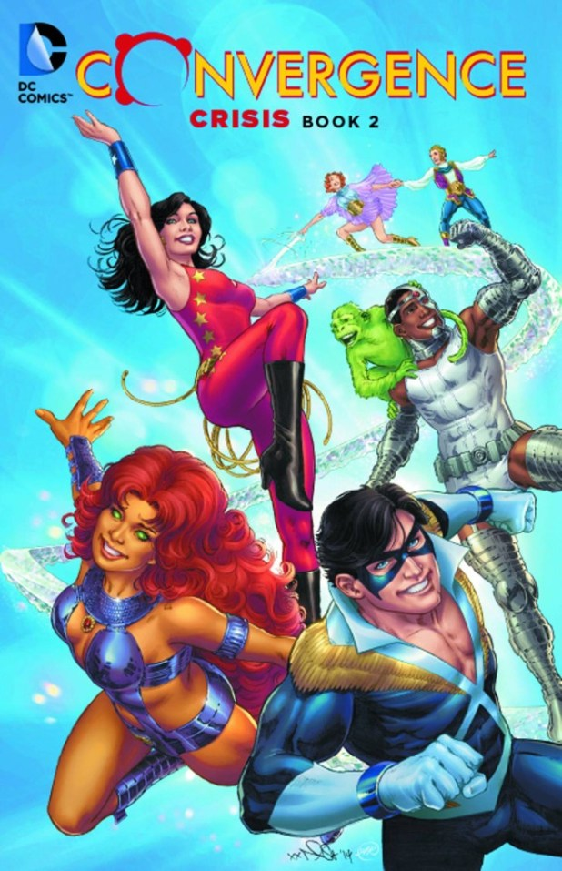 Convergence Crisis Trade Paperback Book 02