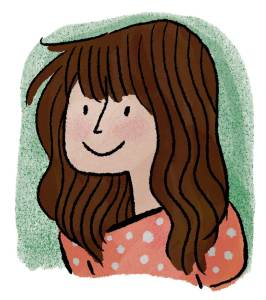 Kate Beaton - Self Portrait