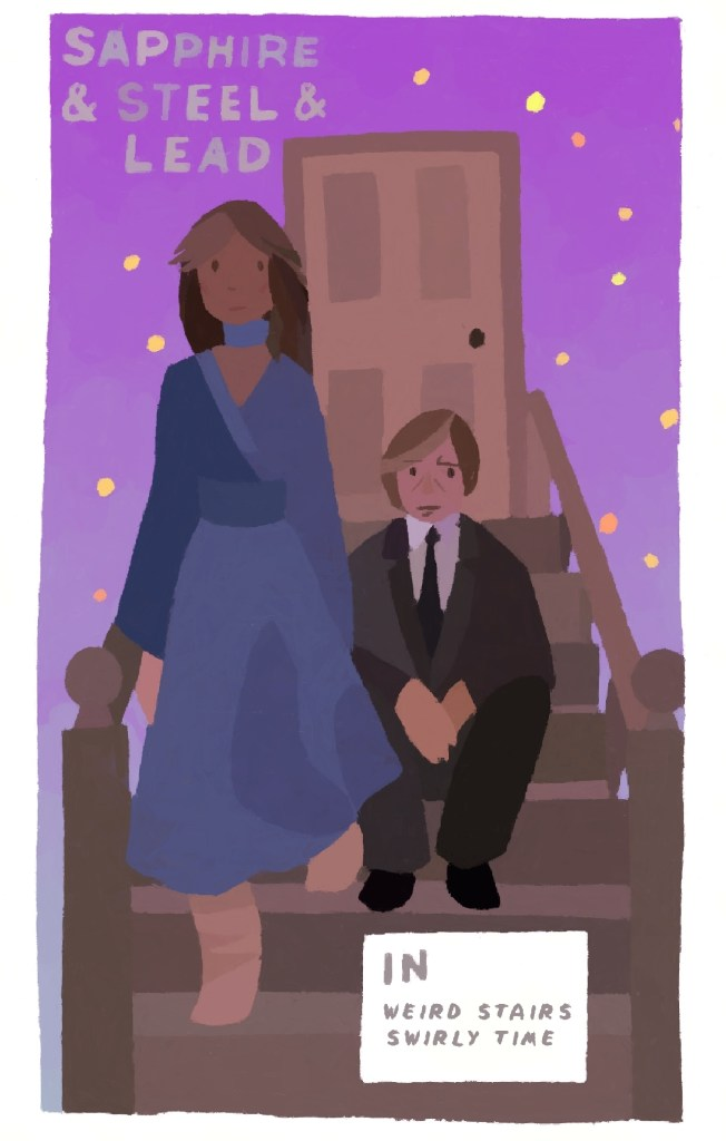 Sapphire & Steel by Simon Daly