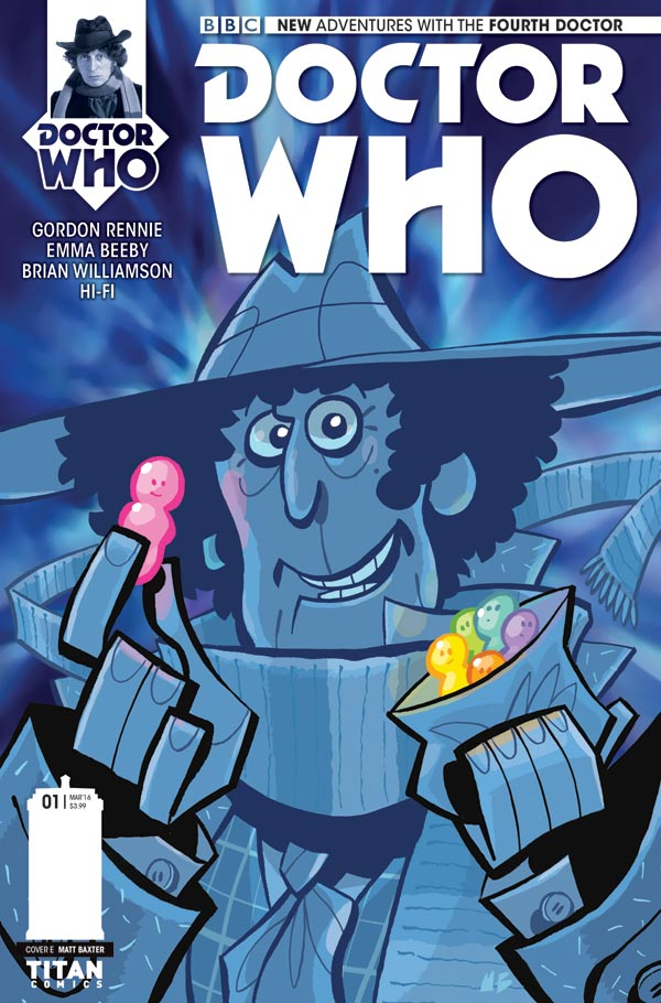 Doctor Who: The Fourth Doctor #1 - Cover E by Matt Baxter