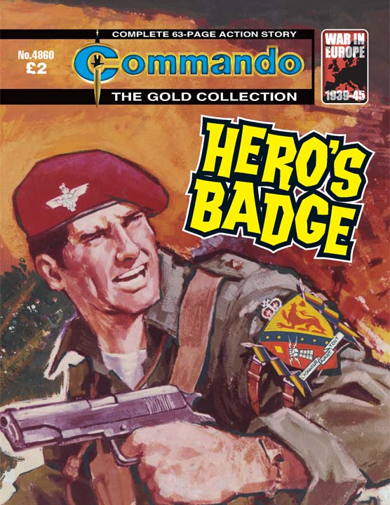 Commando 4860 – Hero's Badge