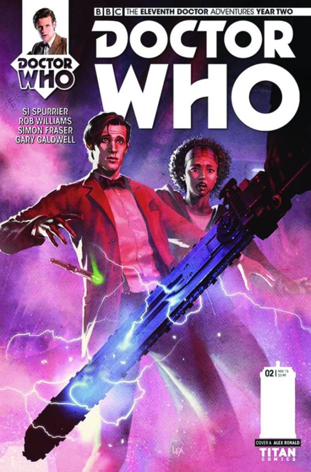 Doctor Who: The Eleventh Doctor Year Two #2 Cover A