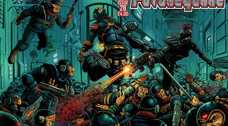 Future Quake Issue 28 - Wraparound Cover