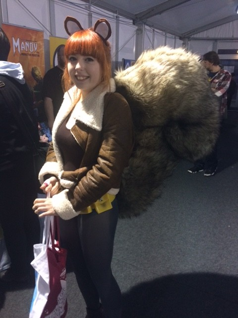 Squirrel Girl Cosplayer at Thought Bubble 2015. Photo: Tony Esmond