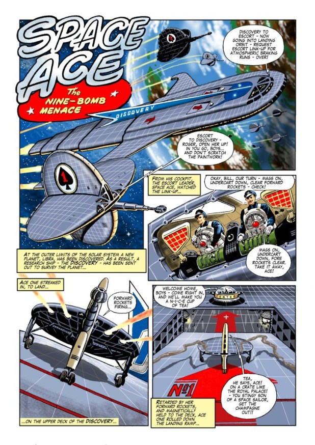 Space Ace Volume 5 - The Nine Bomb Menace
