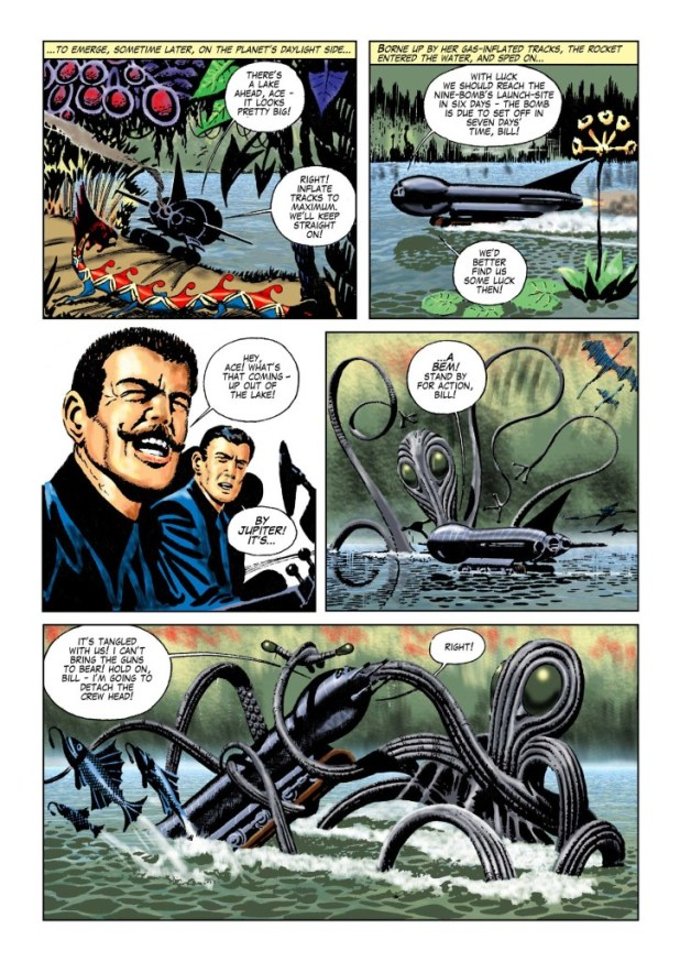 Space Ace Volume 5 - The Nine Bomb Menace (S3)
