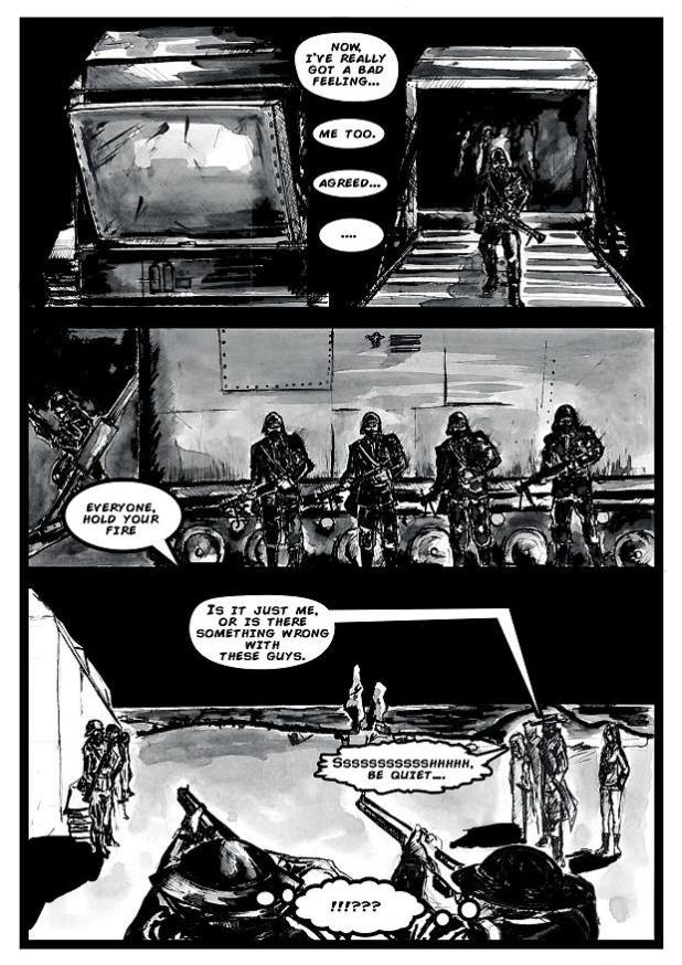 S.T.EA.M. - Island Under Siege #1 - Sample 3