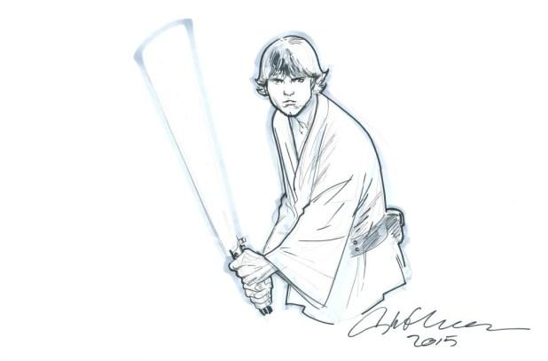 Luke Skywalker by Stuart Immonen