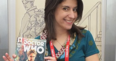 Emma Vieceli at Thought Bubble 2015