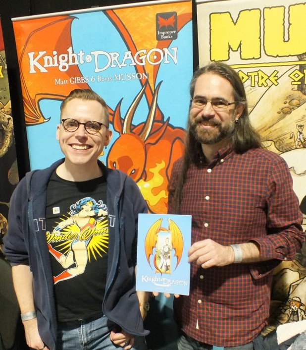 Thought Bubble 2015 L Knight and Dragon