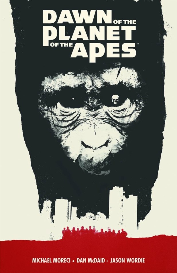 Dawn Of The Planet Of The Apes Trade Paperback Volume 1