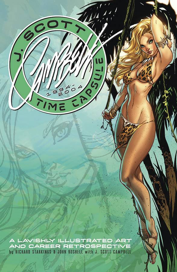 J Scott Campbell Time Capsule Hard Cover