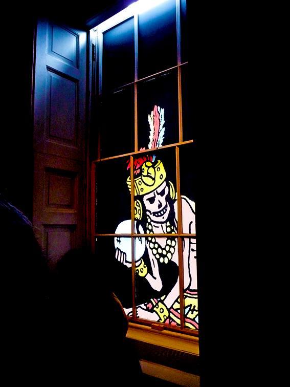 TinTin Exhibition - Somerset House. Photo: Simon Doyle