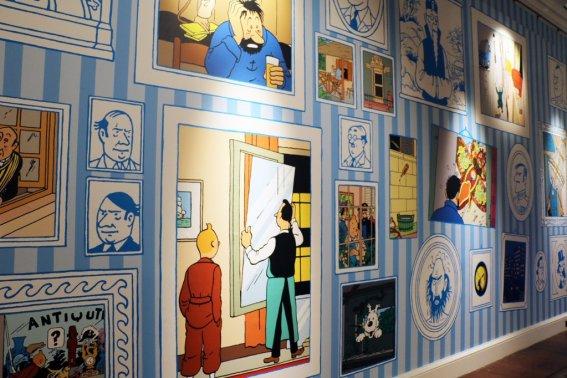 mage: Somerset House. Tintin by Hergé © Hergé / Moulinsart 2015
