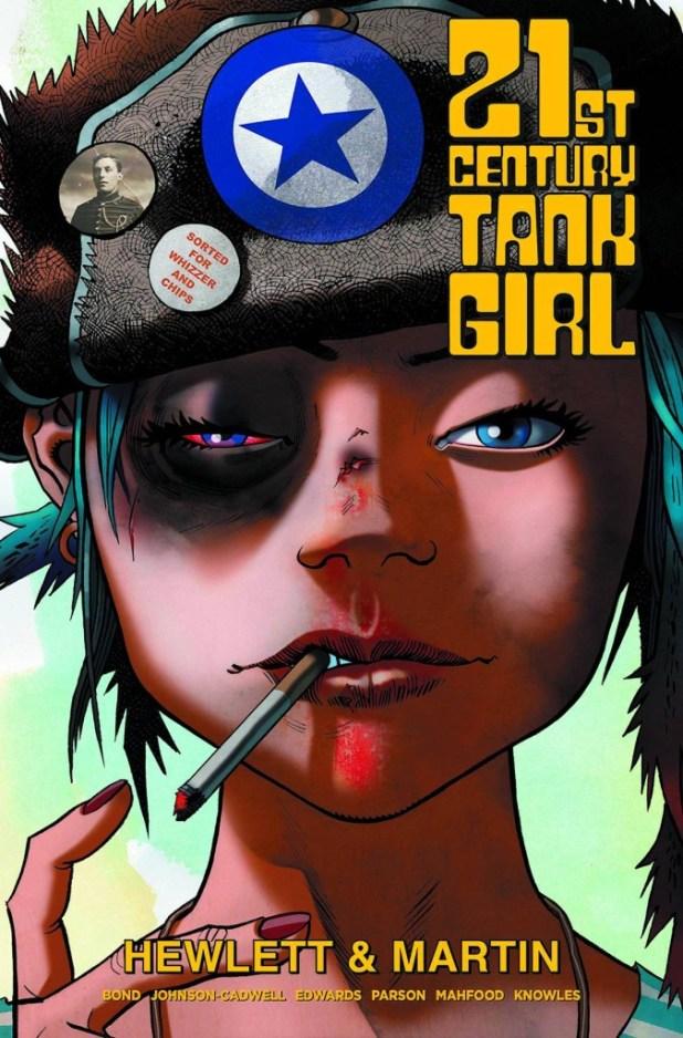 21st Century Tank Girl Hard Cover