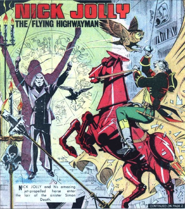 "The Hotspur Issue 802 ""Nick Jolly The Flying Highwayman"""