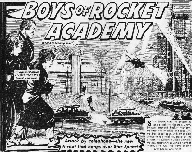 "The Hotspur Issue 872 ""Boys of Rocket Academy"""