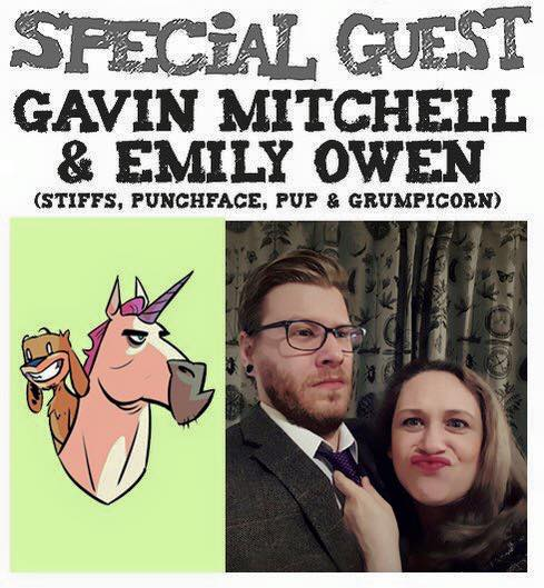 Awesome Comics Podcat Episode 22: -Gavin Mitchell and Emily Owen