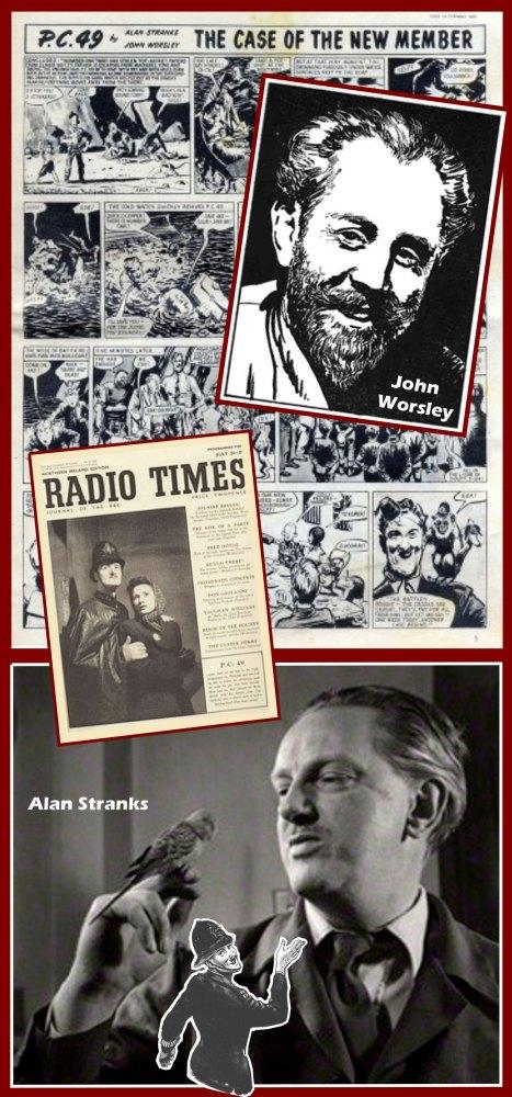 Alan Stranks, the Radio Times and PC 49