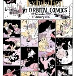 The Avery Hill Exhibition at London's Orbital Comics, on now until January 2016.