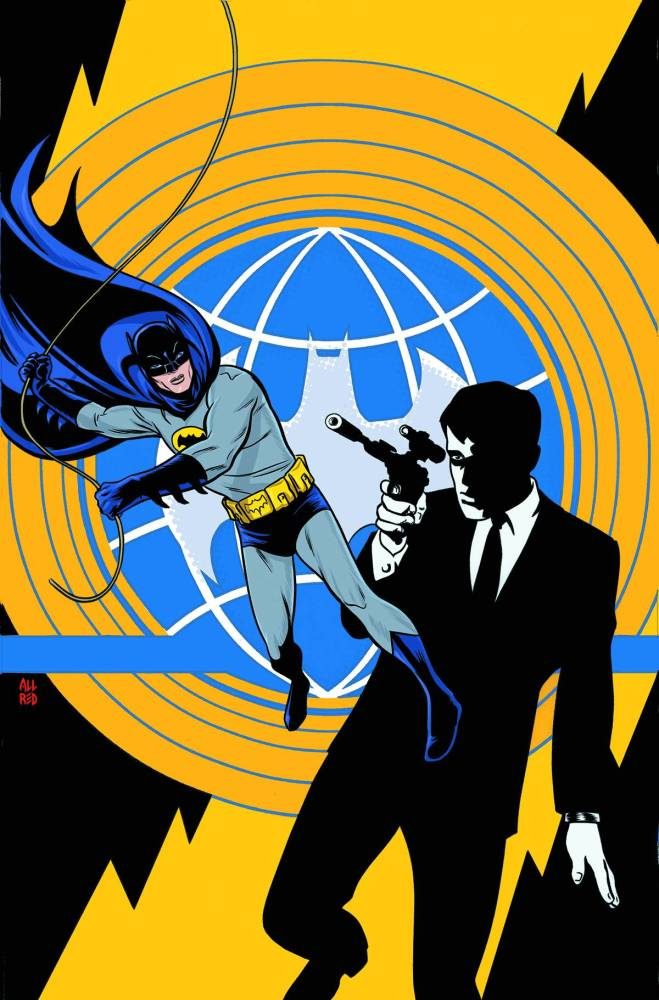 Batman 66 Meets The Man From U.N.C.L.E. #1