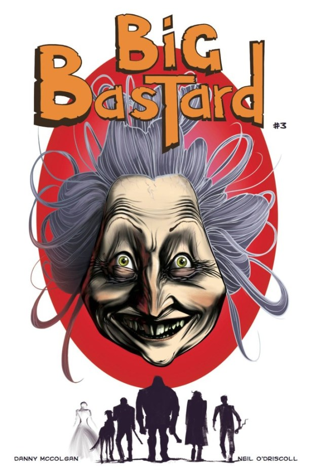 Big Bastard #3 - Cover