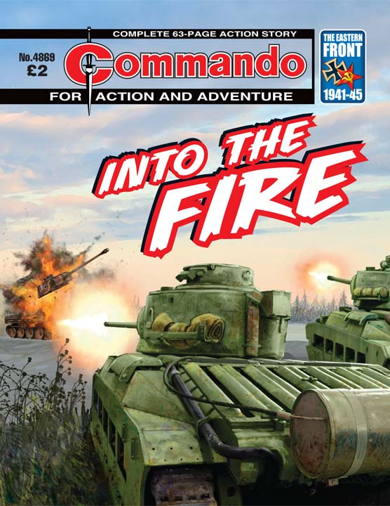 Commando No 4869 – Into The Fire