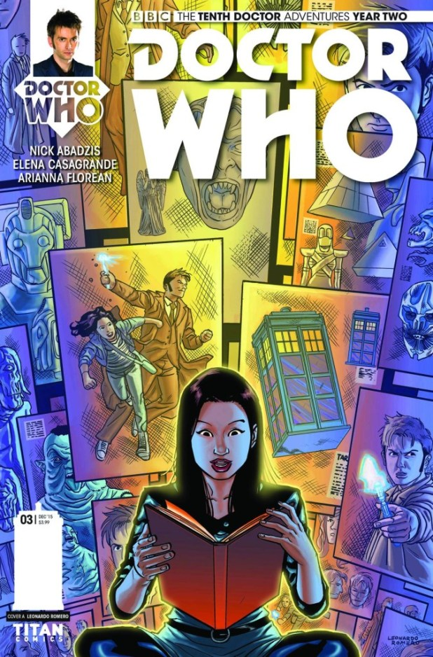Doctor Who: The Tenth Doctor Year Two #3 - Regular Cover