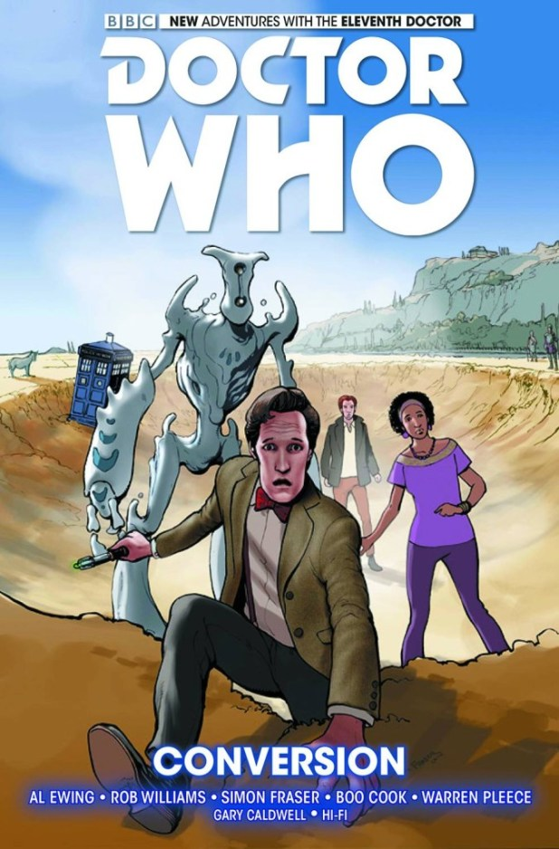 Doctor Who: The Eleventh Doctor Hard Cover Volume 3: Conversion