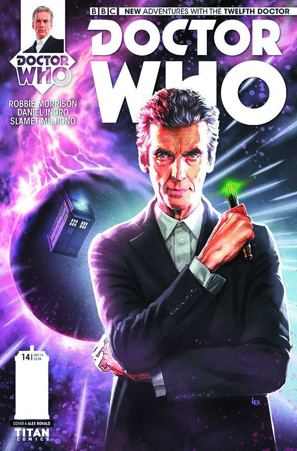 Doctor Who: The Twelfth Doctor #14 - Regular Cover