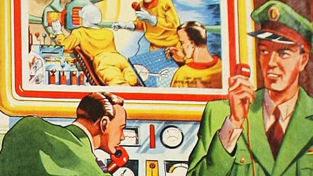Dan Dare Art used for Radio 4 documentary