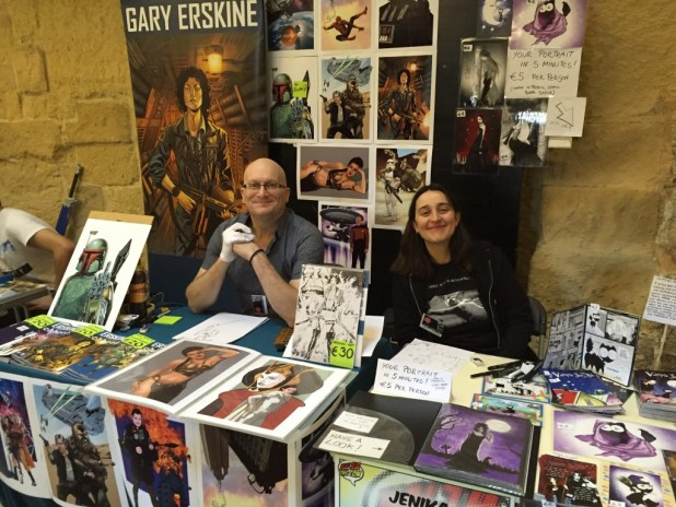 Malta Comic Con 2015: Gary Erskine and Jenika Iofredda