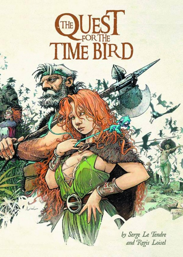 The Quest For Time Bird Graphic Novel