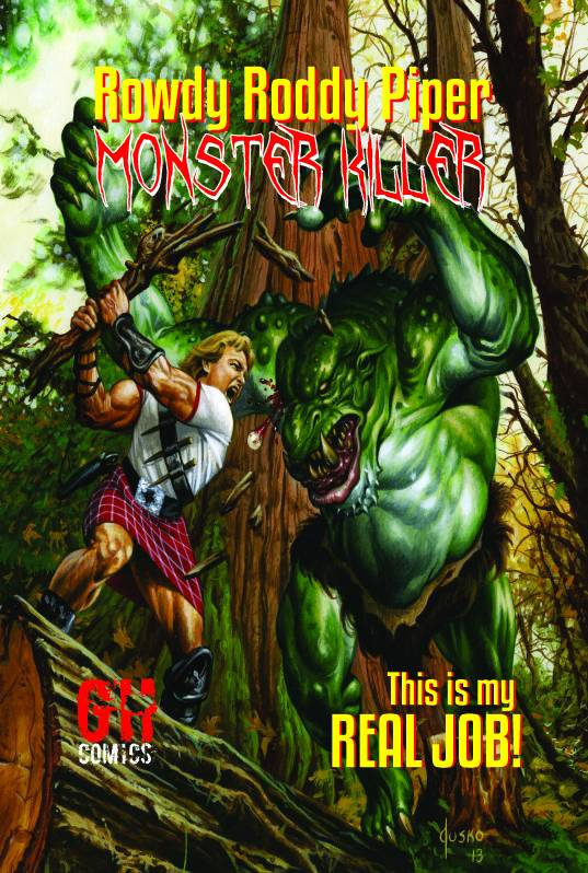 Rowdy Roddy Piper Monster Killer Graphic Novel