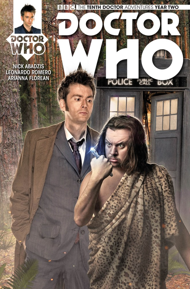 Doctor Who: The Tenth Doctor: Year Two #4 Cover B