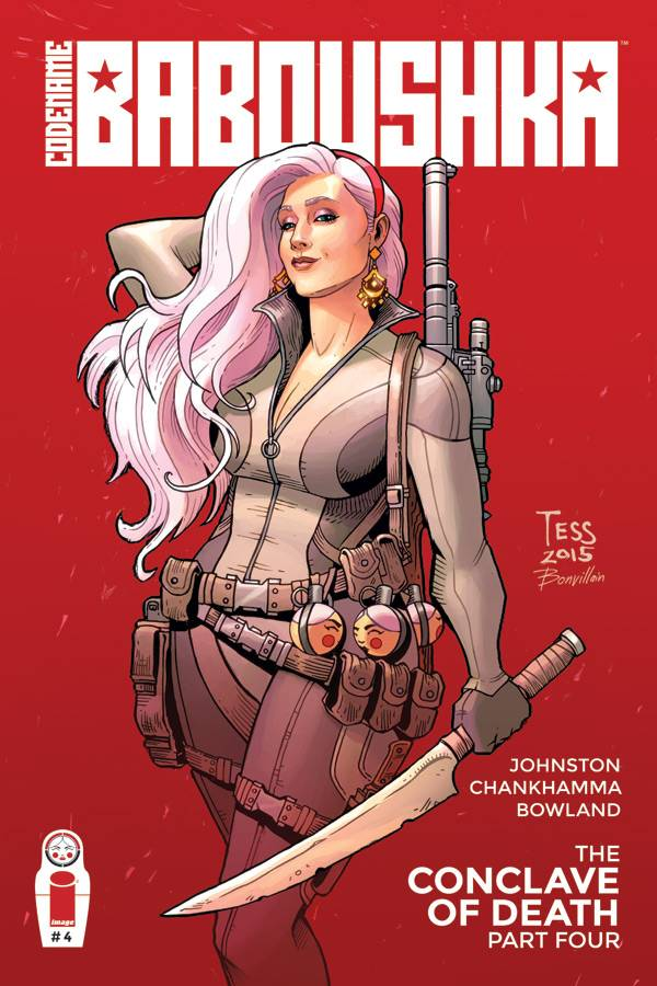 Codename Baboushka Conclave Of Death #4 - Cover B