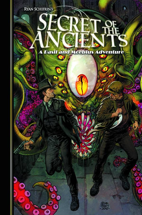 The Adventures of Basil and Moebius Volume 3: Secrets of the Ancients