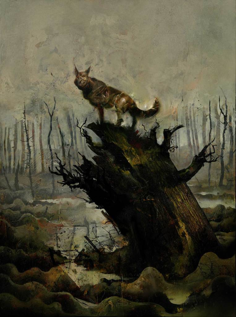 The cover of Black Dog – The Dreams of Paul Nash by Dave McKean